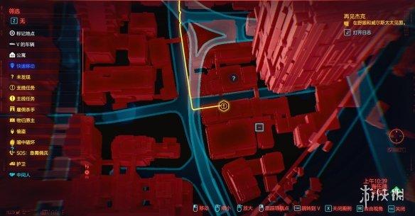 《赛博朋克2077》杰克葬礼酒吧在哪 杰克葬礼酒吧位置一览