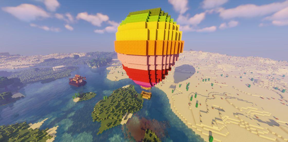 我的世界热气球怎么建?我的世界热气球建造流程攻略分享