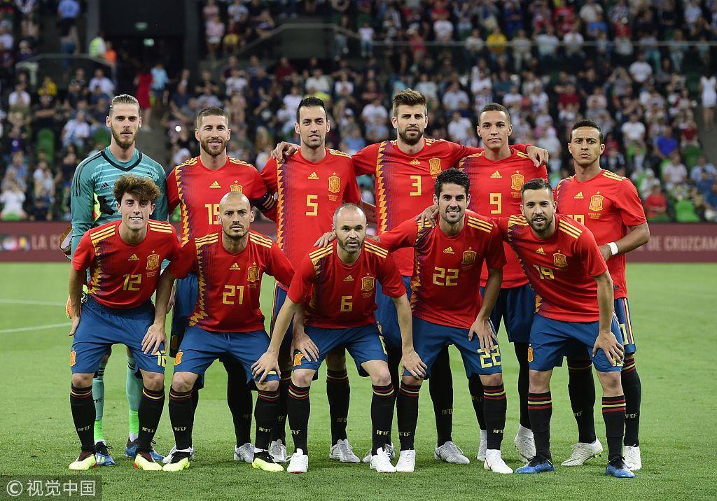 俄罗斯世界杯西班牙半套首发被曝光,你怎么看?