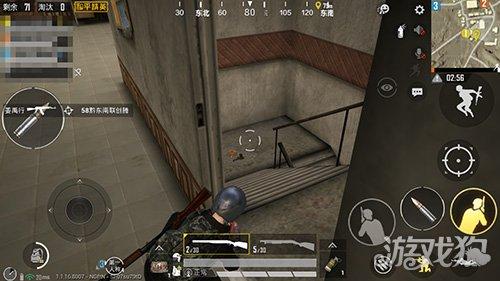 和平精英守楼梯神器 有了这把枪一打四不是问题