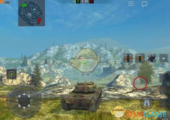 《坦克世界闪击战》开局眼位推荐