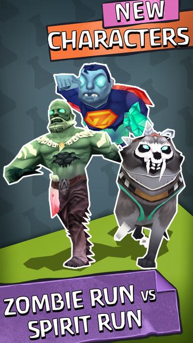 Zombie Run HD软件截图1