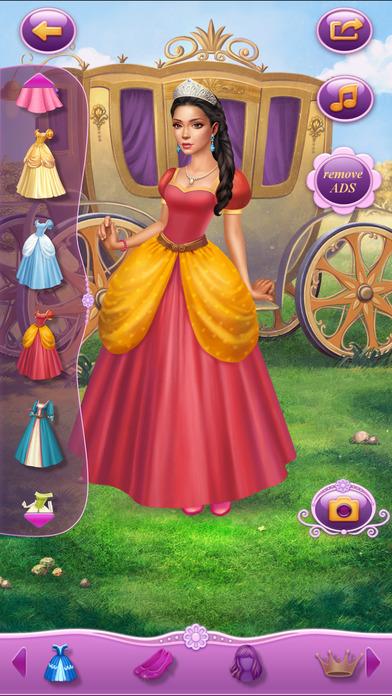 Dress Up Princess Thumbelina软件截图0