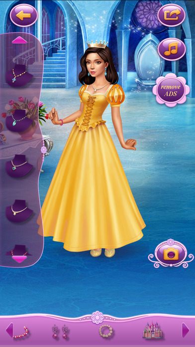 Dress Up Princess Thumbelina软件截图2