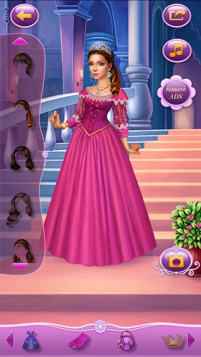 Dress Up Princess Thumbelina软件截图1