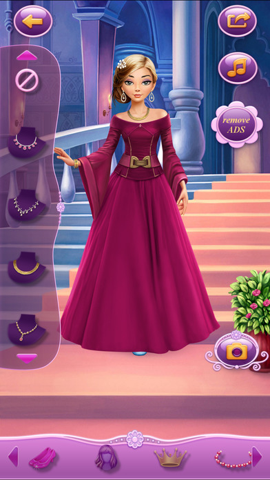 Dress Up Rapunzel软件截图1