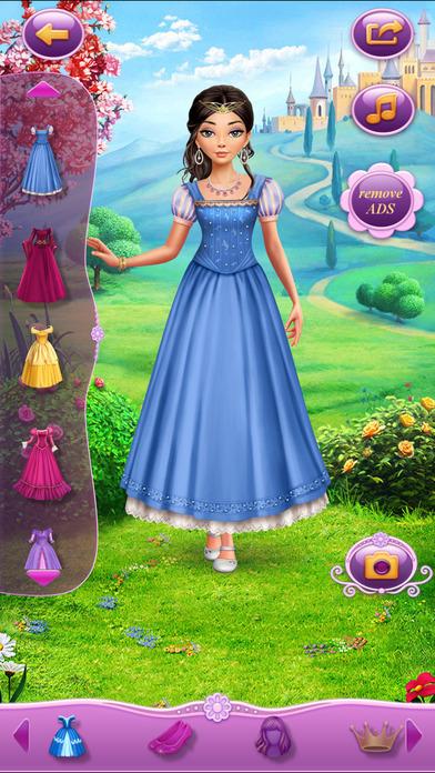 Dress Up Rapunzel软件截图0