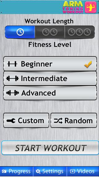 Arm Workout FREE软件截图2