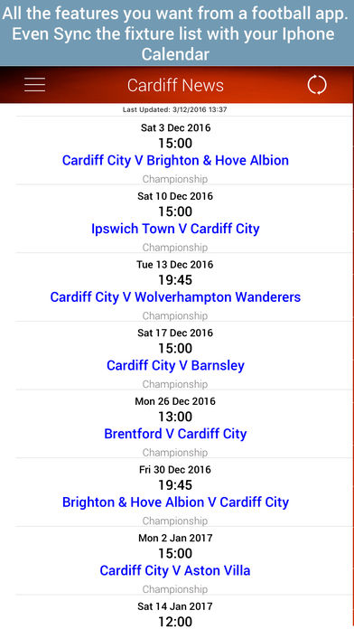 Unofficial News for Cardiff FC软件截图1