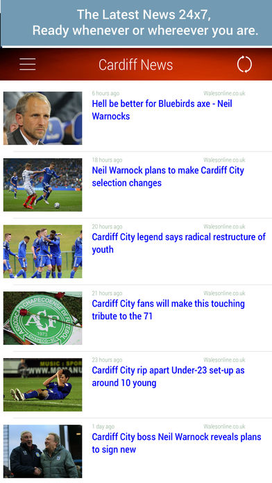 Unofficial News for Cardiff FC软件截图2