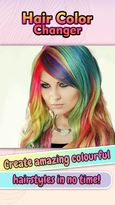 头发换色换发型软件截图0