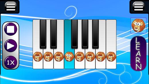 音乐游戏的宝宝 - 钢琴和木琴软件截图0
