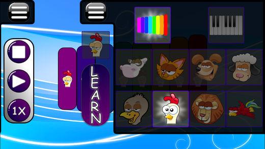 音乐游戏的宝宝 - 钢琴和木琴软件截图2