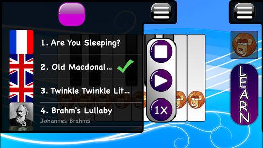 音乐游戏的宝宝 - 钢琴和木琴软件截图1