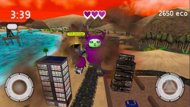 巨型机器人猫: 城市式破碎机软件截图0