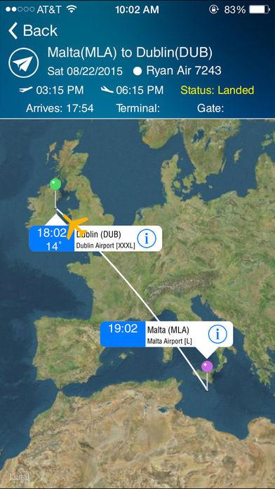 Dublin Flight Information软件截图0