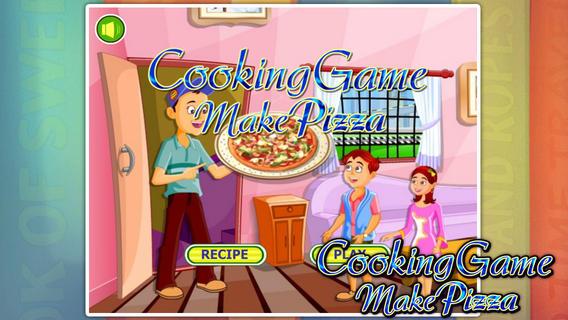 烹饪游戏:美味披萨软件截图0
