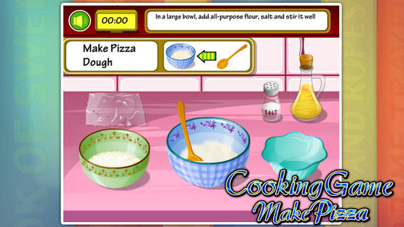 烹饪游戏:美味披萨软件截图1