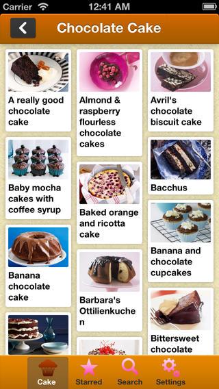 Cake Baking Recipes(蛋糕烘焙食谱)软件截图1