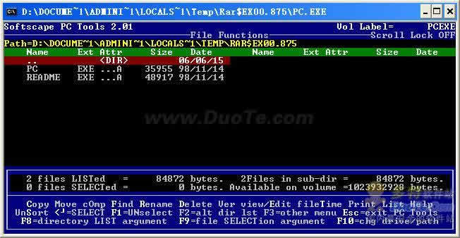 Softscape PC Tools(删除顽固文件的好工具)下载