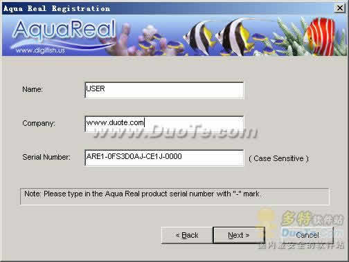 Aqua Real(动态水族箱屏幕保护)下载