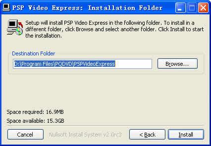 PSP Video Express(MP4制作软件)下载