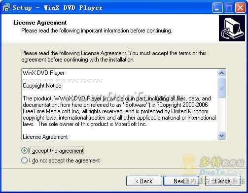 WinX DVD Player下载