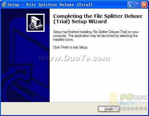 File Splitter Deluxe下载