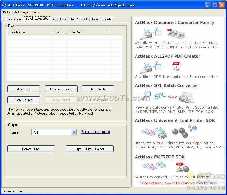 All2PDF PDF Creator下载