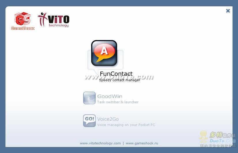 VITO FunContact for Windows Mobile PC下载