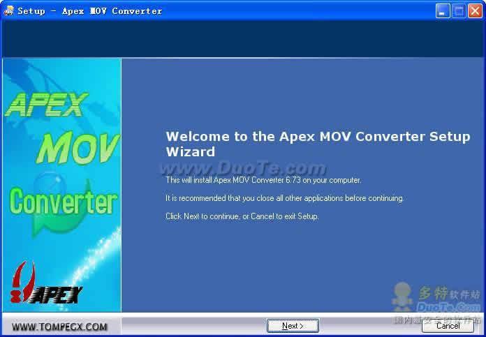 Apex Movie Converter下载