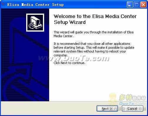 Elisa Media Center下载