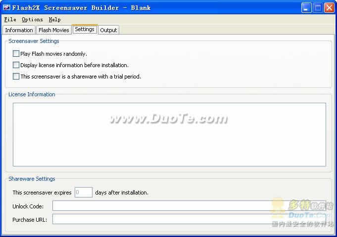 Flash2X Screensaver Builder下载