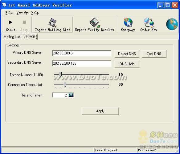 1st Email Address Verifier下载