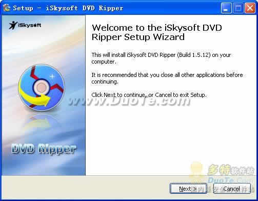 iSkysoft DVD Ripper for Windows下载