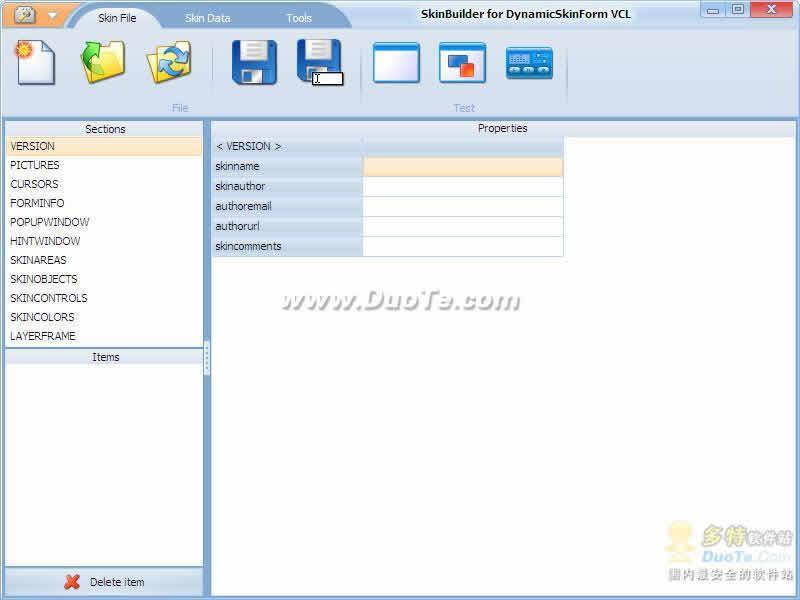 DynamicSkinForm VCL for CB 2010下载