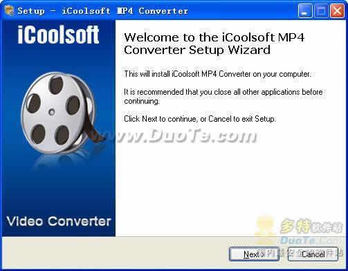 iCoolsoft MP4 Converter下载