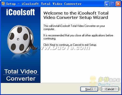 iCoolsoft Total Video Converter下载