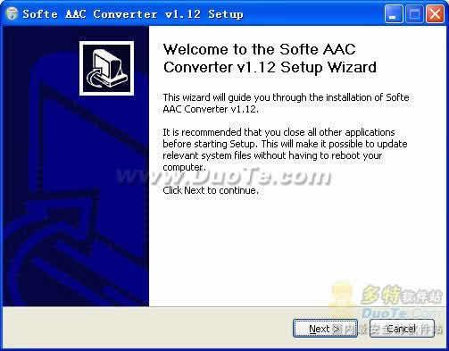 Softe AAC Converter下载