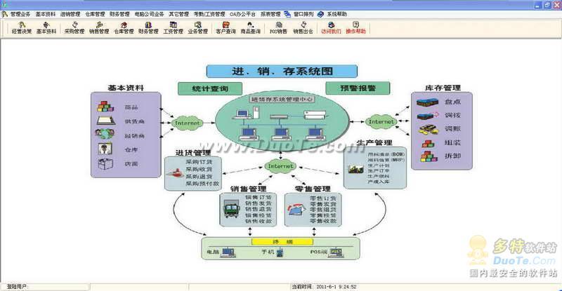盈锋电脑公司管理软件下载