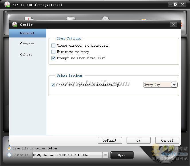 OX PDF to HTML Converter下载