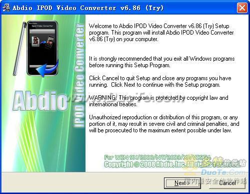 Abdio IPOD Video Converter下载