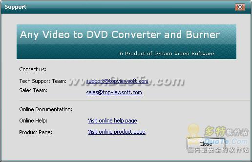 Any Video to DVD Converter and Burner下载
