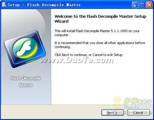 McFunSoft Flash Decompile Master下载
