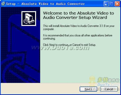 Absolute Video to Audio Converter下载