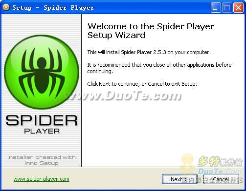 Spider Player下载