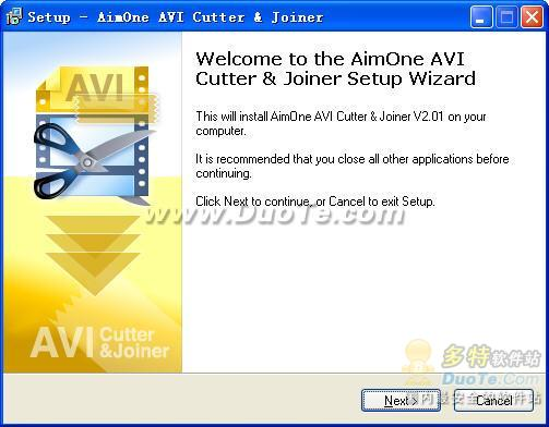 AimOne AVI Cutter & Joiner下载
