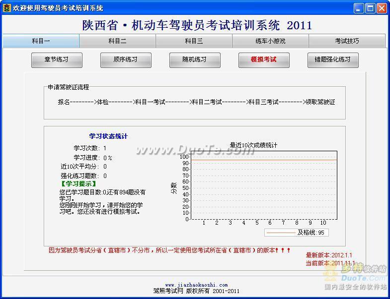 驾驶员模拟考试C1-陕西版下载