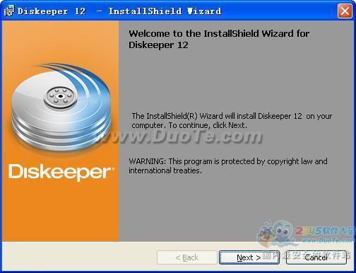 Diskeeper Professional Edition 2012下载