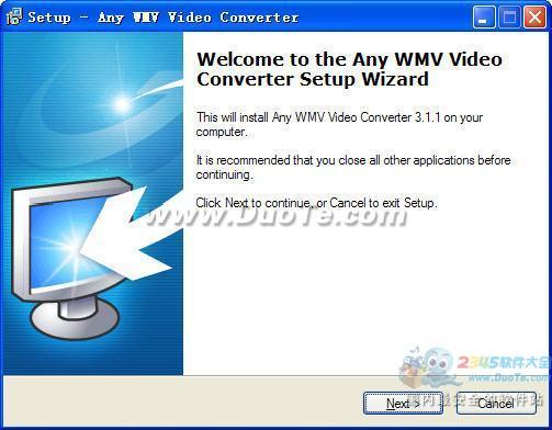 Any WMV Video Converter下载